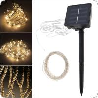 10 Meter 100 LED Solar Light Outdoor Garden Christmas Flashing Lights for Holiday Decoration