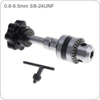 0.5-6.5mm Manual Hand Twist Drill Machine with Big Grasping Chuck for DIY Drilling Tools