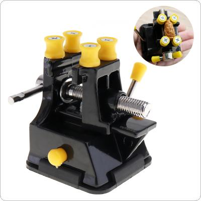 DIY Sculpture Craft Jaw Bench Clamp Press Vice with Vice Suction Grip Vise for Fixed Repair Tool
