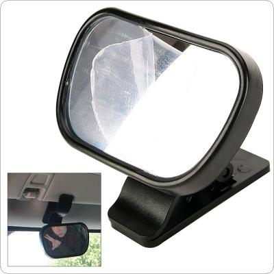 Mini Car Rearview Mirror Safety Easy View Baby Viewer Auxiliary Mirror Inside Rearview Mirror with Sucker and Clip for Cars