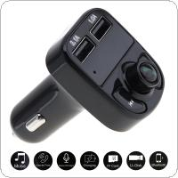 Bluetooth Car MP3 Music Player Kit Auto Radio Audio Stereo Player Hands-free FM Transmitter with USB Charger