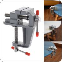 Mini Aluminum Alloy DIY Jaw Bench Clamp Drill Press Vice Micro Clip for Clamping Table / Water Pump