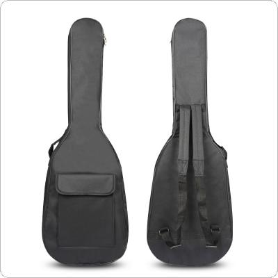 600D 5mm Thick Cotton Electric Gitar Bag Soft Case Waterproof Material with Double Strap Backpack Padded