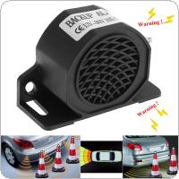 KX-5028 Black 105dB Reversing Back Up Alarm Horn Speaker for Motorcycle Car Vehicle Tricycle