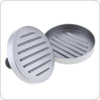 12cm Aluminum Alloy Hamburger Press with Round Hamburger Grill Burger Press Maker Mold for Kitchen Tools