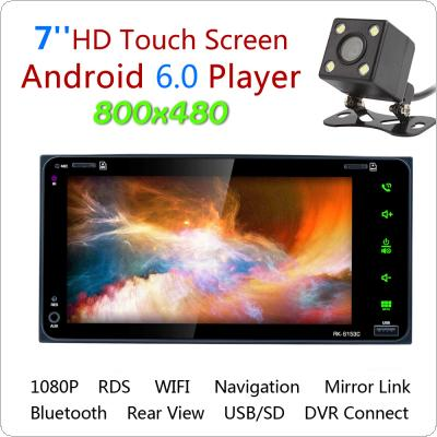7 Inch RDS  Android 6.0  Bluetooth  Car Radio Stereo Player Digital Touch Screen GPS Navigation Support Mirror Link with Rearview Camera for Toyota Camry / Coro