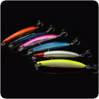 6pcs/lot 9.5cm 8.5g Minnow Artificial Hard Fishing Lure Laser Hard Bait with 3D Eyes