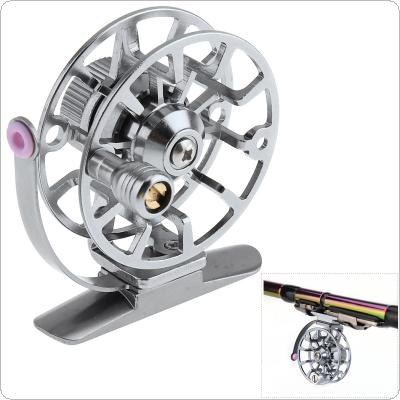 1:1 Full Metal Ultra-Light Former Ice Fishing Reel Fly Fishing Wheel Aluminum Alloy Support Left/Right Interchangeable