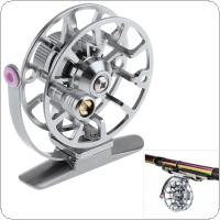 Full Metal Ultra-Light Former Ice Fishing Reel Fly Fishing Wheel Aluminum Alloy Support Right Hand