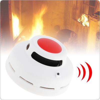 2 in1 Combination Carbon Monoxide And Smoke Alarm with Red LED Flashes And Low Battery Prompt for Air Detection