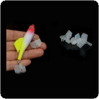 50pcs Durable Fishing Treble Hooks Covers Case Bonnets Caps Safety Protector Set