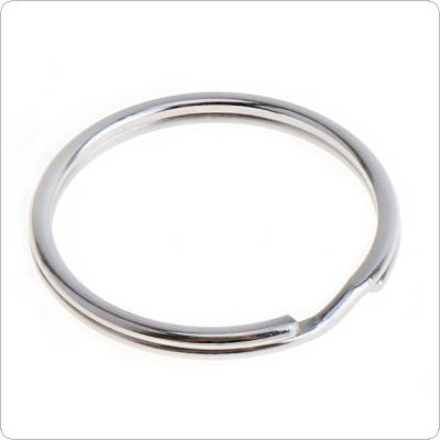 100pcs 20mm Diaphragm Iron Hoop Nickle Key Ring Metal Key for Key Accessories Connection Ring