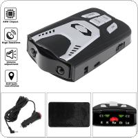 D5 X K Ka Laser Car Detector Anti Radar Detector Detection Devices with LED Screen Display support Russian & English