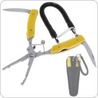 Stainless Steel Fishing Gripper Lure Pliers Multifunction Fish Scissors Line Cutter Fishing Tools