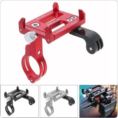 GUB G-88 Aluminum Alloy Bicycle Phone Holder Motion Camera Navigation Support for Bike Handlebar and Stem