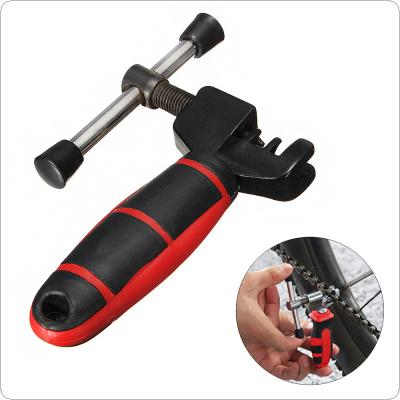 Bike Chain Breaker Cutter Removal Tool Bicycle Chain Pin Splitter Device with Red Handle