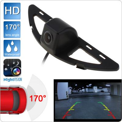 CCD HD 480TVL 170 Degrees Wide Angle Auto Car Rearview Camera Reverse Backup Parking Camera for 08 / 11 / 12 / 14 Honda City