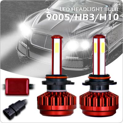 100W 9005 HB3 12000LM 6000K All-In-One LED Headlight Kit High/Low Beam Bulbs Automotive LED Headlamps for Cars
