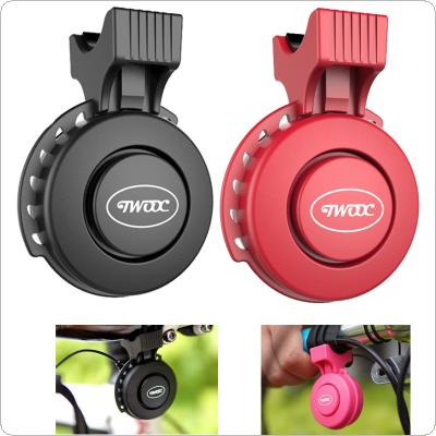 Bicycle Bell Cycling Electronic Horns Bicycle Handlebar Ring Bell Loud Air Alarm Bell Sound with USB Charge