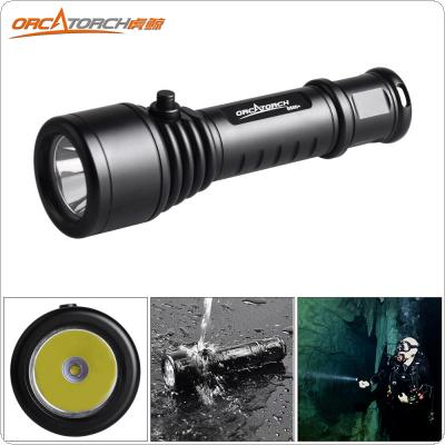 ORCATORCH D500+ CREE XM-L2 U4 LED 1000 Lumens Underwater 150m Diving Flashlight with Shock Resistant for Professional Diving
