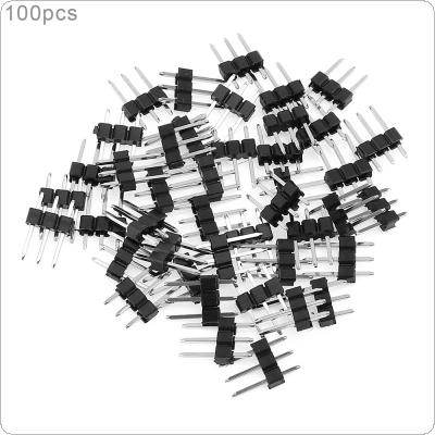 100pcs XH2.54 3Pin Female Strip Pin Header for PCB Car