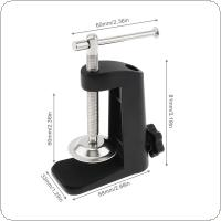 Aluminum Alloy Cantilever Bracket Clamp with 12MM Hole Diameter and Non-slip Mat for Mic Stand