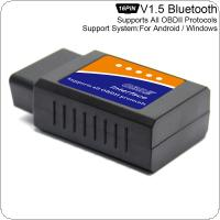 ELM327 V1.5 Super Mini Bluetooth Scanner Wireless Interface Auto Interface Code Readers Diagnostic Tool OBDII Protocols