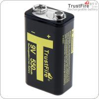 TrustFire 9V 550mAh Li-ion Rechargeable Battery with 3A Charging Current for Multimeter / Wireless Microphone / Alarm