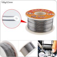 100g 63/37 45FT 0.5mm Tin Lead Solder Flux Soldering Welding Iron Wire Reel for Electronic Product Maintenance