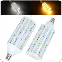 B22 30W 165 x 5730 SMD LED Light Super Bright Warm White / White Light Corn Bulb