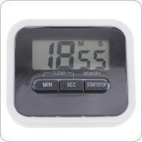 Multifunction Electronic LCD Digital Timer with Magnet and Back Stand for Kitchen Cooking