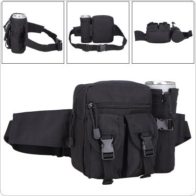 Multifunction Military Equipment Waist Bag Tactical Pockets Leisure Outdoor Package With Detachable Cup Bag for Riding Camping Travel