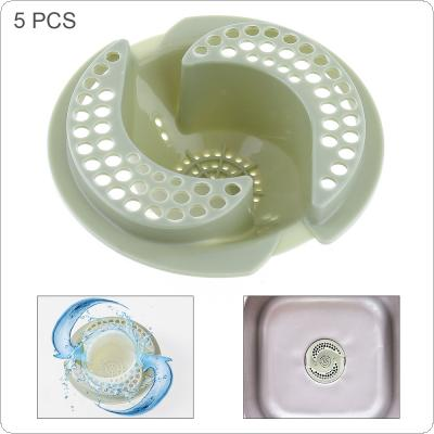 5pcs Diversion Type Sink Filter with Plastic Anti Blocking Filter for Bathroom Kitchen