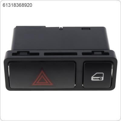 Car Warning Light Lock Switch Window Lifting Switch Electric Window Switch Folding 61318368920 Fit for BMW