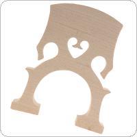 Cello Bridge Maple Material for 4/4 Size Cello Accessory