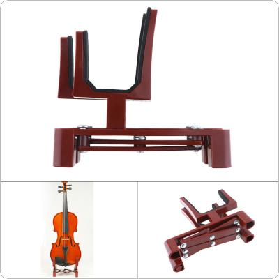 Adjustable Violin Stand Holder Plastic Foldable Extended Violin Accessories with Sponge Pad for 4/4 3/4 1/2 1/4 Violin