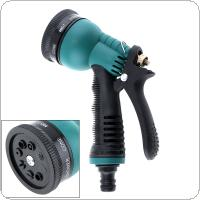 Multifunction High Pressure 7 Pattern Nozzle Water Gun with Telescopic Pipe and Press Type Switch for Vehicle Cleaning / Gardening Watering