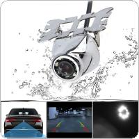 CCD Waterproof Car Rear View Camera 170 Degree Night Vision Parking Reversing Assistance Wide Angle with 8 LED