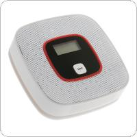 Portable Mini Carbon Monoxide Poisoning Warning Alarm with Voice Light Alarm LCD and Concentration Display for Air Detection