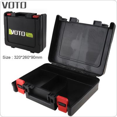 VOTO Power Tool Suitcase 12 / 16.8 / 21V Electric Drill Universal Tool Box with 320mm Length and 260mm Width for Lithium Drill / Electric Screwdriver