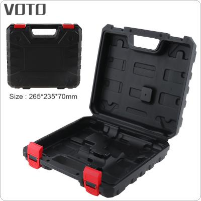 VOTO Power Tool Suitcase 12V Electric Drill Dedicated Load Tool Box with 255mm Length and 235mm Width for Lithium Drill / Electric Screwdriver