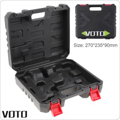 VOTO Power Tool Suitcase 21V Electric Drill Dedicated Load Tool Box with 270mm Length and 235mm Width for Lithium Drill / Electric Screwdriver