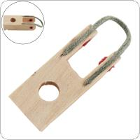 Wooden Piano Damper Flange Piano Repair Part with Rope for Upright Pianos
