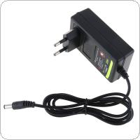100-240V Portable Multifunction 25V DC Li-ion Charger Support US / EU Power Source for Lithium Drill / Electrical Wrench