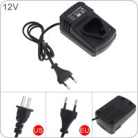 12V DC Portable Multifunction Li-ion Rechargeable Charger Support 110-240V Power Source for Lithium Drill / Electrical Wrench