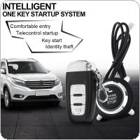 PKE Car Smart Alarm Remote Initiating System Start Stop Engine System with Auto Central Lock and Keyless Entry