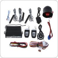 PKE Car Smart Alarm Remote Initiating System Start Stop Engine System with Auto Central Lock Keyless Entry and Vibration Alarm