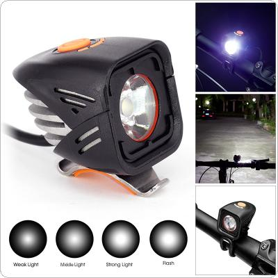 Waterproof 800 Lumen XML-2 LED 4 Modes USB Bicycle Head Light Cycling Front Lamp with Temperature Control for Night Riding / Travel Camping