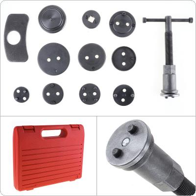 12pcs/Set Universal Car Disc Brake Caliper Wind Back Brake Piston Compressor Tool Kit For Most Automobiles Garage Repair Tools