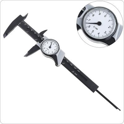 0-150mm 6 Inch Portable Plastic Vernier Caliper with 0.1mm Scale Calipers for Home